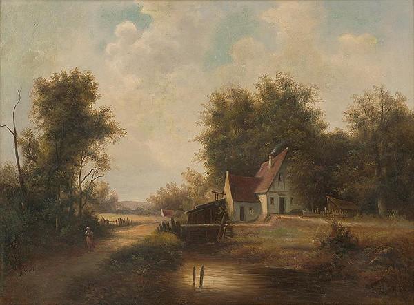 A. Wolf – Starý mlyn