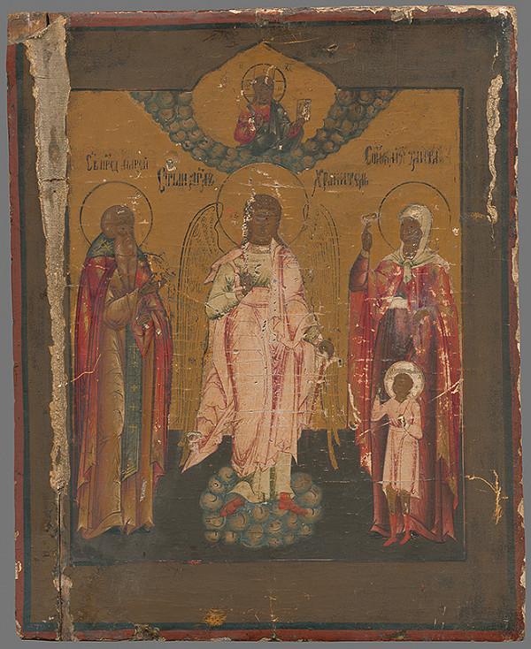 Ruský maliar z 1. polovice 17. storočia - Traja svätci