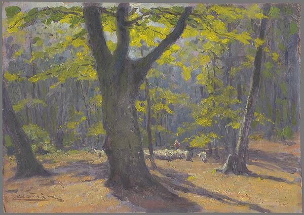 Ľudovít Čordák – Dubový les