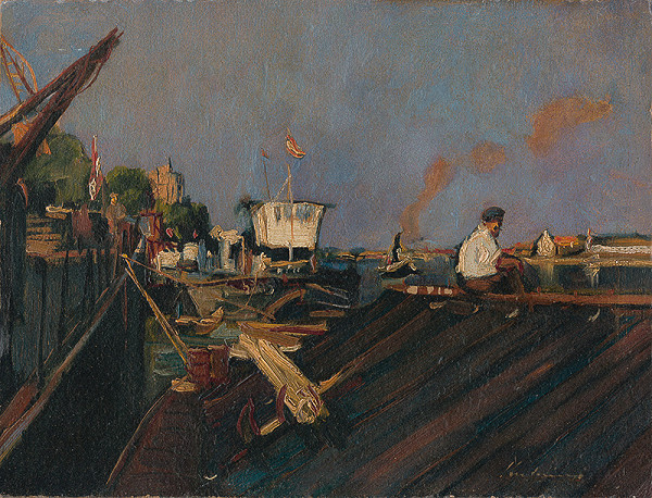 Alexander Kubínyi – V prístave