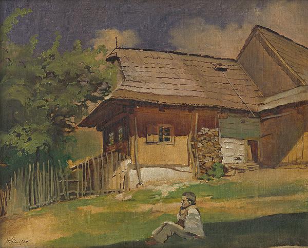 František Hála – Važecká drevenica