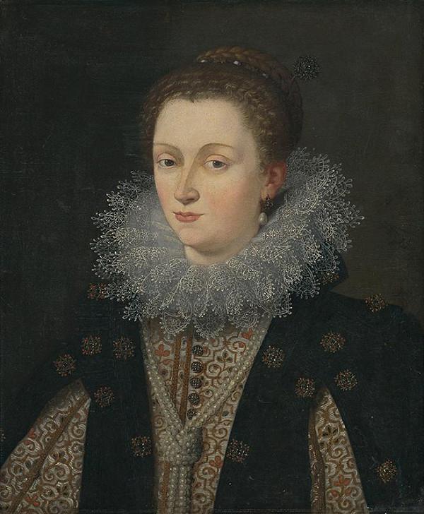Slovenský maliar z 18. storočia – Portrét dámy