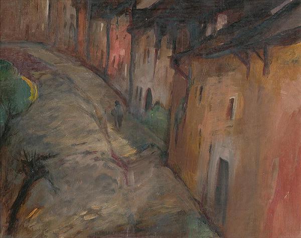 Jozef Fabini – Vysoká ulica v Levoči