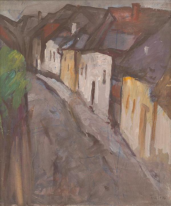 Jozef Fabini - Stredoveká ulička