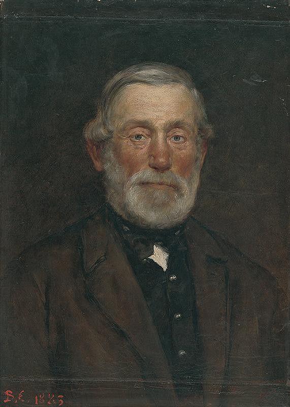 Eduard Ballo – Podobizeň starého Hoffmanna