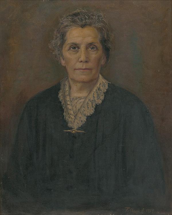 Alojz Fellegi – Portrét p.Milchovej