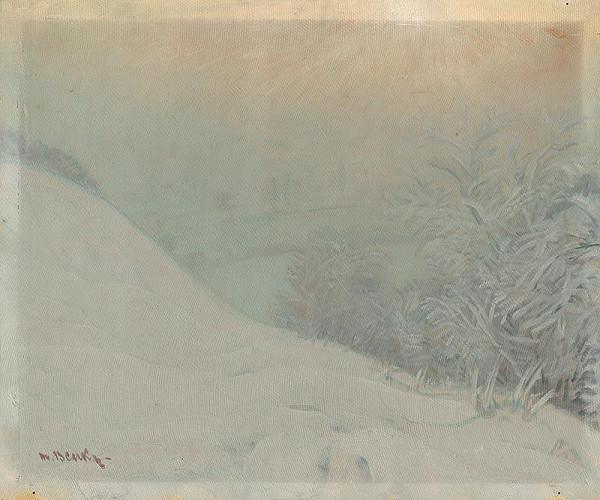 Martin Benka - Zimná krajina