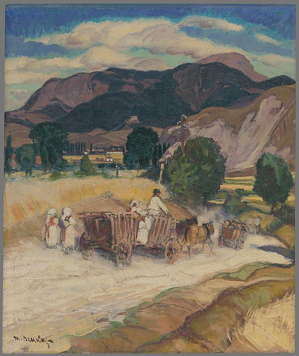 Martin Benka – Krajina s povozom