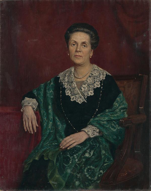 Eduard Ballo - Portrét ženy