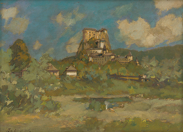 Alexander Kubínyi – Oravský zámok