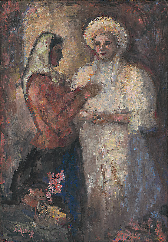 Janko Alexy – Obliekanie nevesty