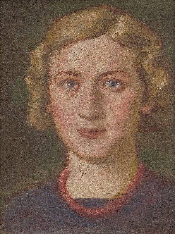 Milan Thomka Mitrovský – Dievča s korálkami