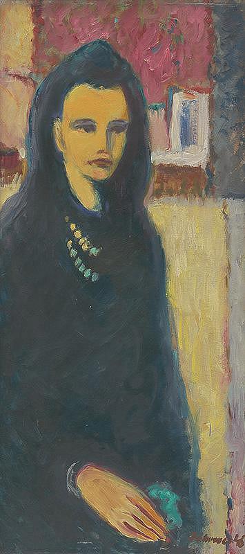 Robert Dúbravec - Žena v modrom