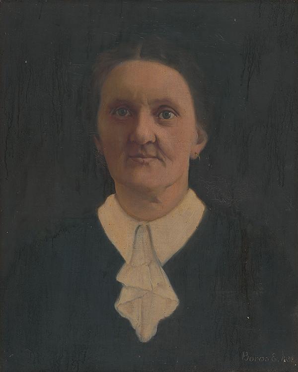 maliar z 19. storočia – Portrét ženy