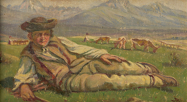 Jaroslav Augusta – Na pastve