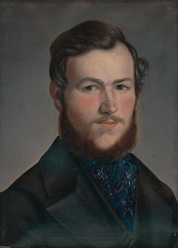 Jozef Czauczik - Portrét mladého muža