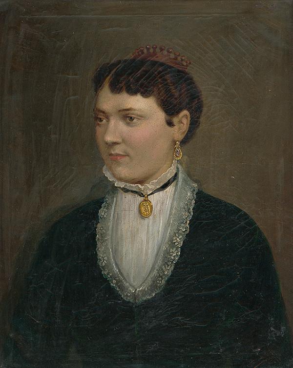 Jozef Božetech Klemens – Portrét P.Drahotuczkej