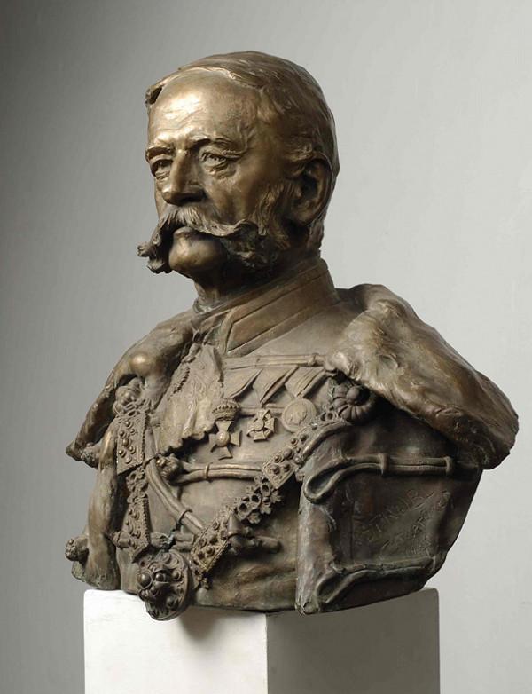 Alojz Štróbl - Portrét cisára Františka Jozefa I.