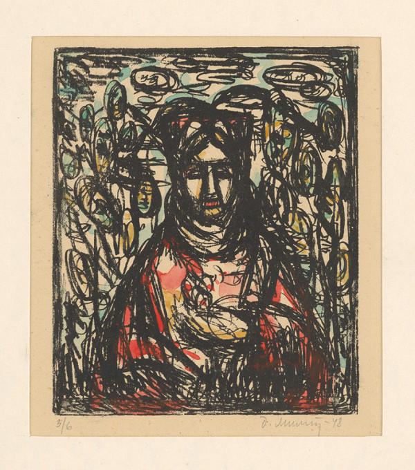 Dezider Milly – Žena s kvetom