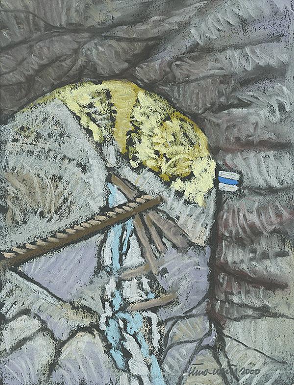Ján Šimo-Svrček – Skalné okno - Suchá Belá