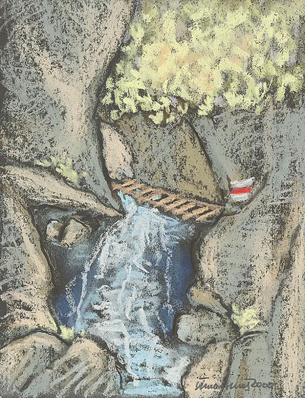 Ján Šimo-Svrček - Z tiesňavy Suchá Belá