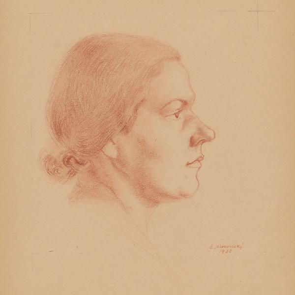 Emil Makovický – Hlava ženy I.
