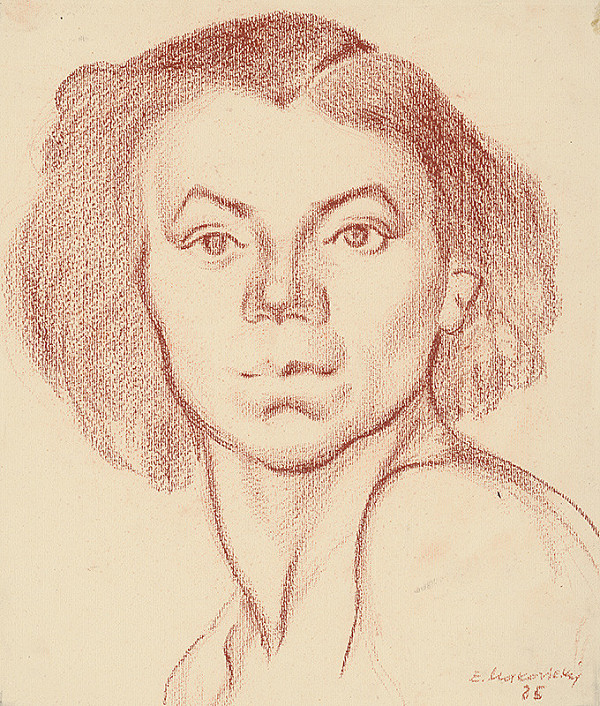 Emil Makovický – Portrét ženy