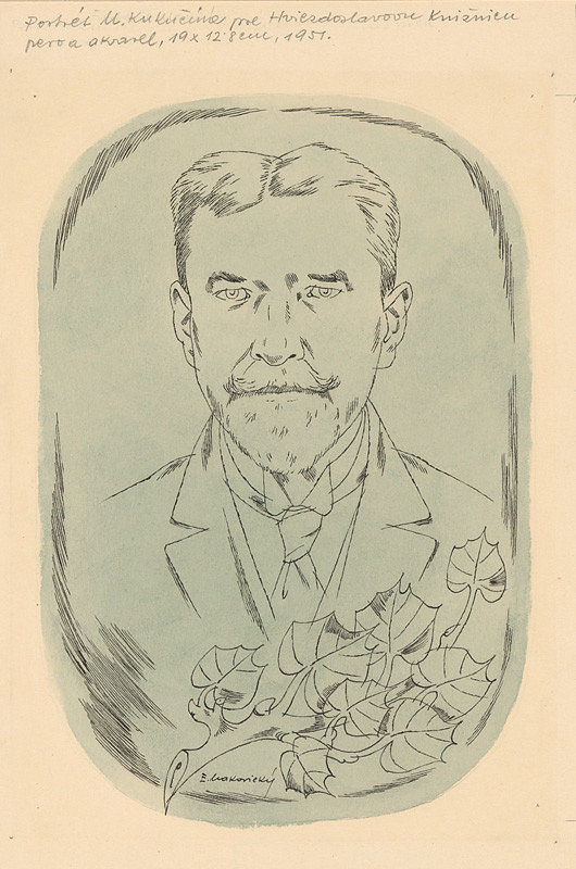 Emil Makovický – Portrét Kukučína