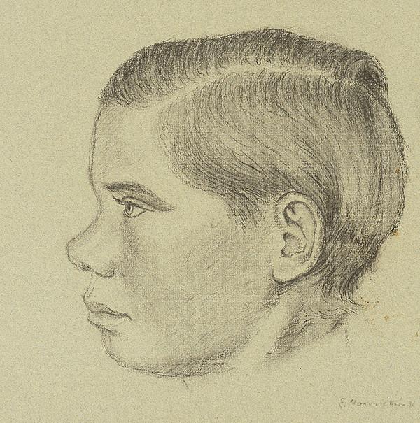Emil Makovický - Chlapec z profilu