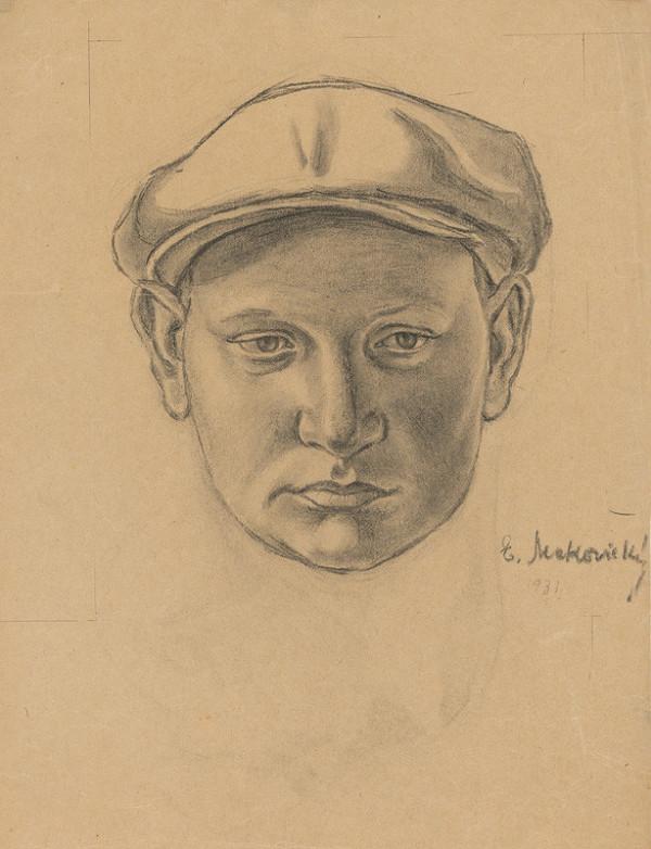 Emil Makovický - Chlapec v čiapke