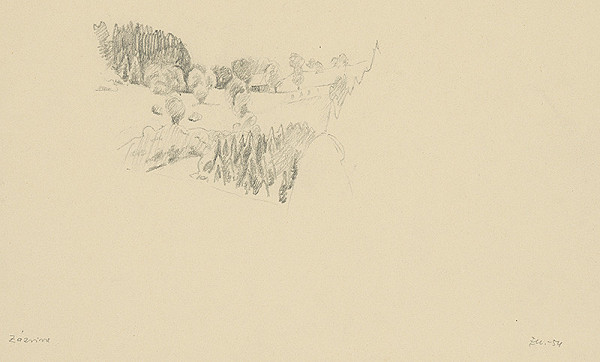Emil Makovický – Chalupy medzi stromami