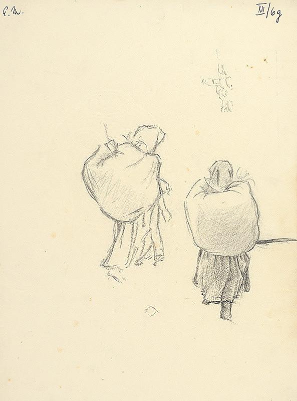 Emil Makovický – Ženy s nošou