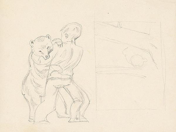 Emil Makovický - Chlapec s medveďom