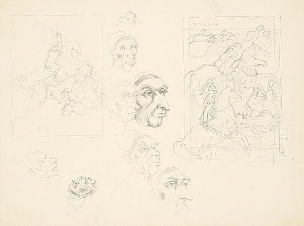 Emil Makovický - Náčrty k ilustráciám