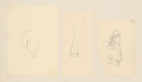 Emil Makovický - Tri figurálne štúdie