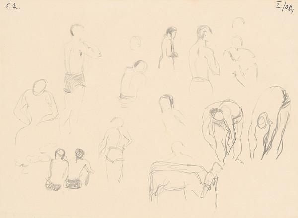 Emil Makovický - Figurálne štúdie