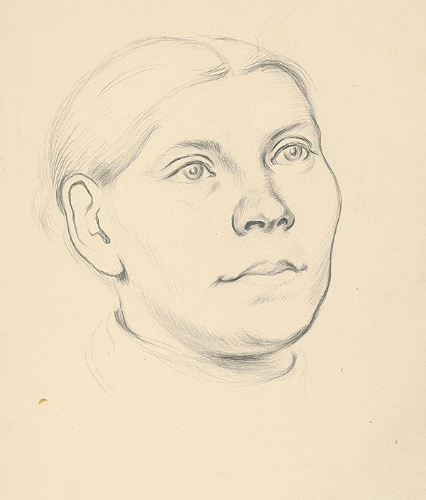 Emil Makovický - Hlava ženy