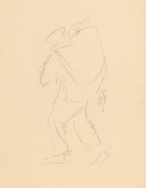 Emil Makovický - Muž s nošou na chrbte