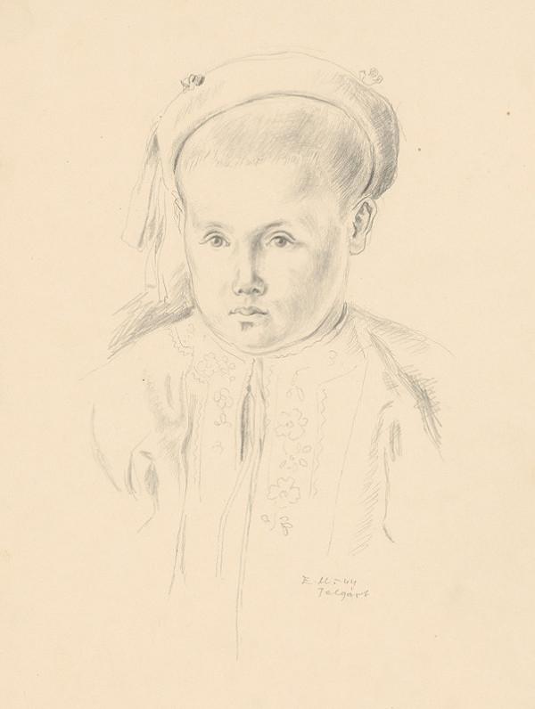 Emil Makovický - Chlapec v kroji