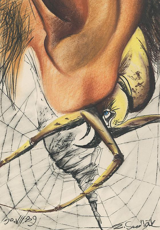 Emil Sedlák - Moje pavúky pri uchu