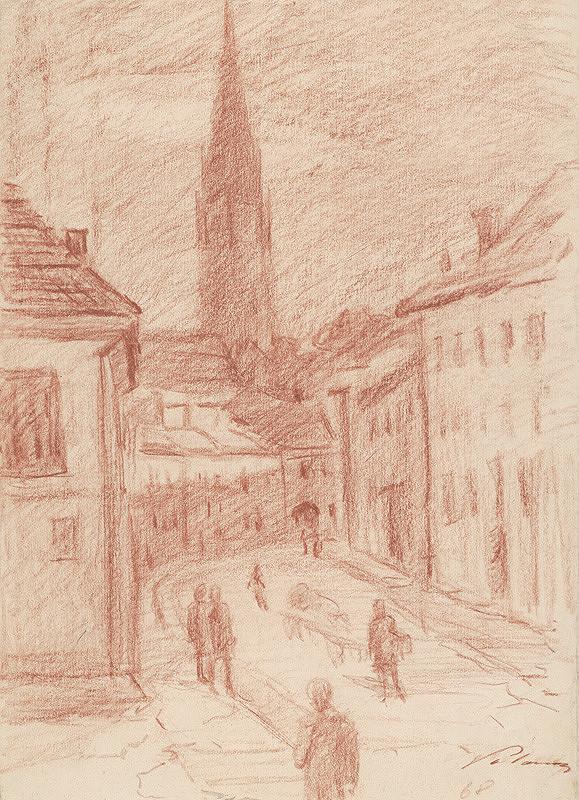 Ján Polom – Levočská ulica v Spišskej Novej Vsi
