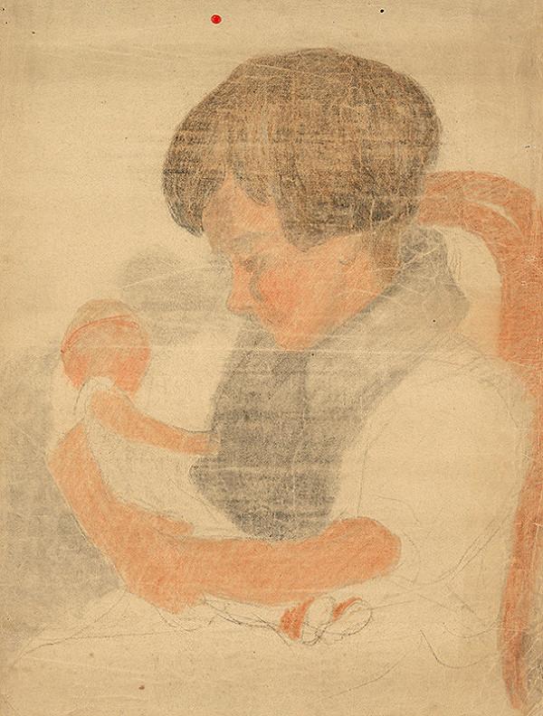 Jozef Hanula – Dievčatko s bábikou