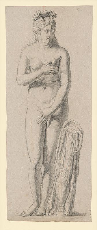Jozef Hanula – Štúdia antickej ženskej figúry