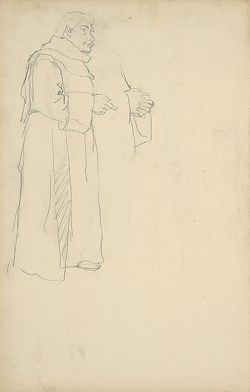 Jozef Hanula - Skicár s figurálnymi štúdiami
