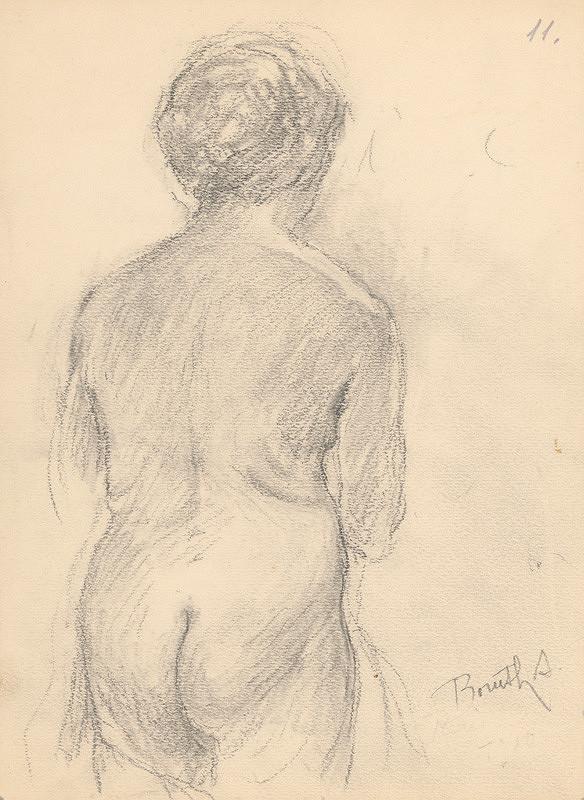 Andor Borúth – Kresba - skica