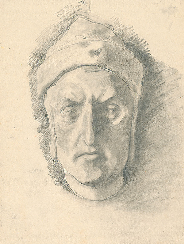 Andor Borúth – Štúdia hlavy