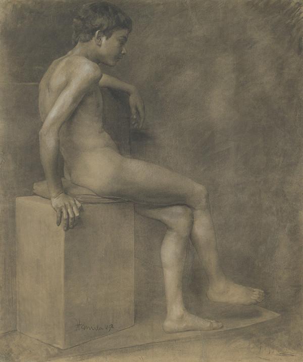 Jozef Hanula - Sediaci chlapec