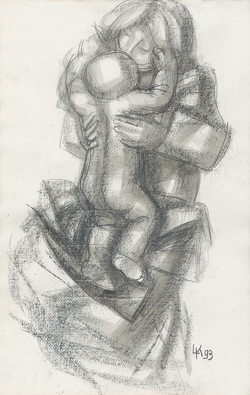 Ladislav Kacvinský - Matka s dieťaťom