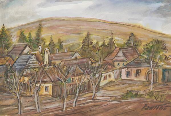 Emil Paulovič - Starý trh v Kežmarku