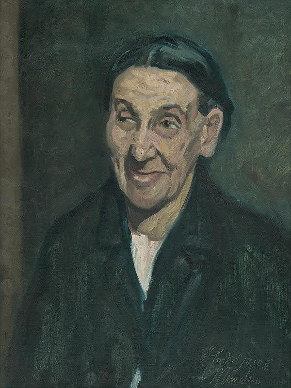 Štefan Fodor - Portrét ženy